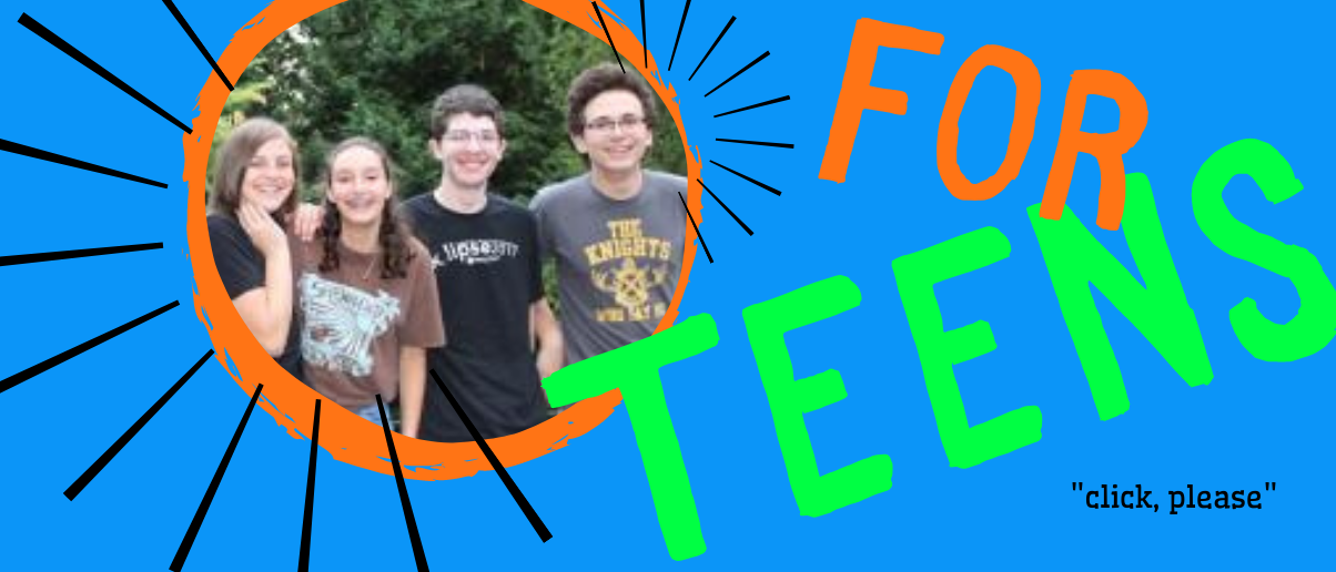 banner to teens page
