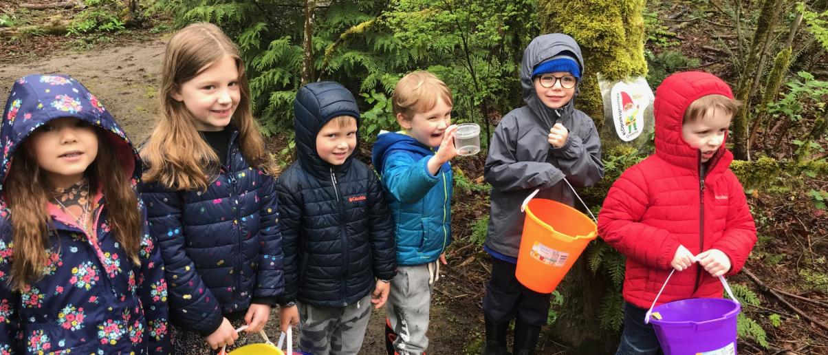 Preschool Nature Walk At Springbrook Park City Of Lake Oswego