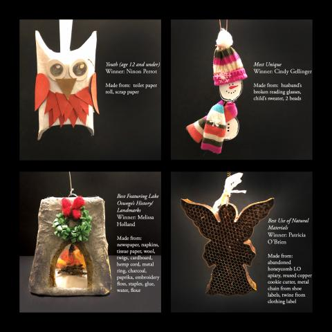 2019 LO Recycled Ornament WINNERS