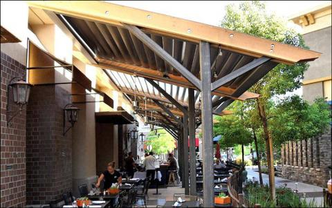 Restaurant - awning example