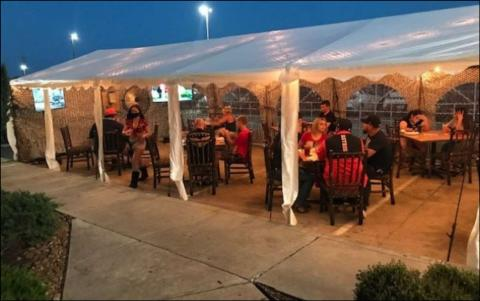 Restaurant - tent example