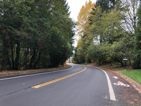 Round the bend on Jefferson Parkway