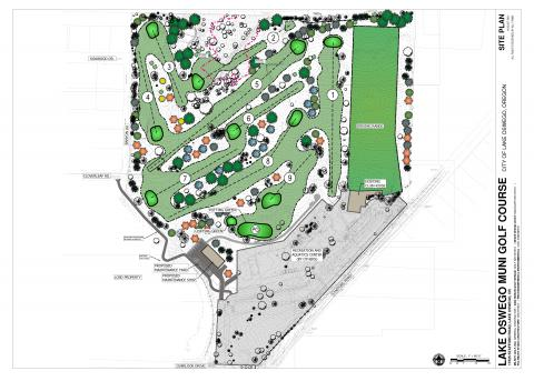 Revised Golf Course Site Plan August 20, 2021