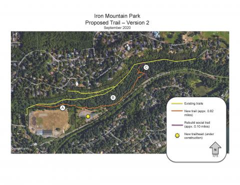 Revised Trail Alignment