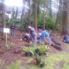 Volunteers planting at East Waluga