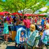 Honorable Mention:  Farmer's Market Lunch Break by Bill Eklund
