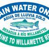 City of Lake Oswego-Willamette River Storm Drain Marker