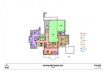 First Floor Concept Plan July 2020