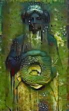 Gravestone Image, Green
