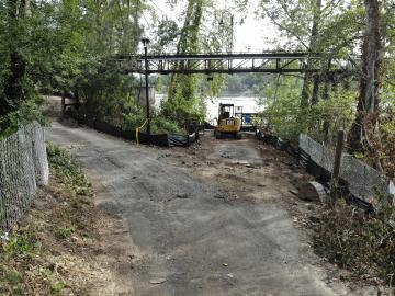 Roehr Pathway Construction Photo Aug 2020
