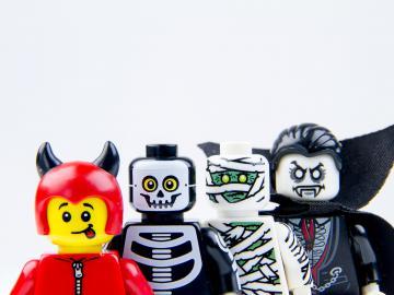 lego haunted