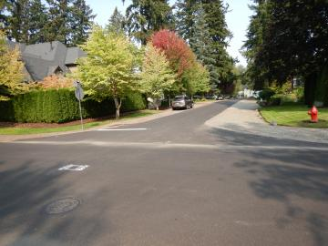 Finished Paving at E Avenue and 8th Street
