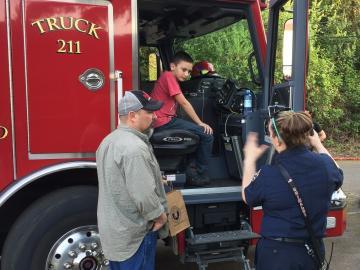 Prep Fair fire truck