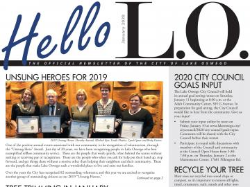 January 2020 HelloLO front page