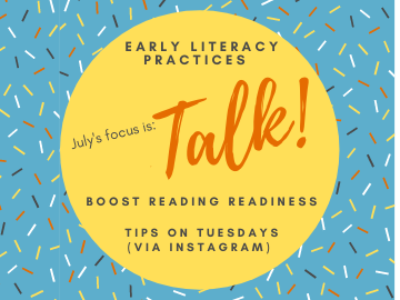 Talk - Early Lit Challenge