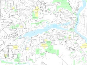 Lake Oswego Zip Code Map.Maps City Of Lake Oswego