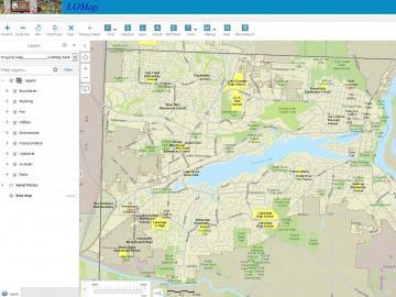 Maps | City of Lake Oswego  Area Code Map on