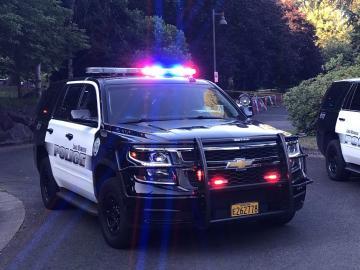 Police Car - Crime Scene Tape