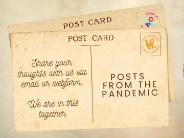 Pandemic posts banner