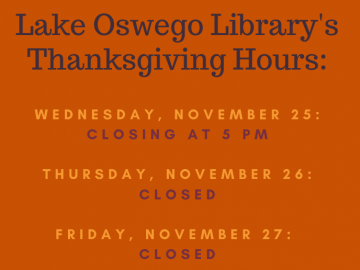 Thanksgiving closure banner