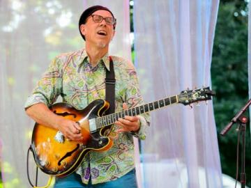 Jazz guitarist Dan Balmer will play a free concert as part of Lake Oswego Public Library's First Tuesday Music series, at 7 p.m. Tuesday, May 5, at the LO Adult Community Center, 505 G Ave., Lake Oswego, OR 97034