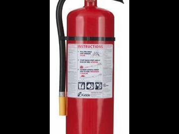 LOFD Fire Extinguisher class