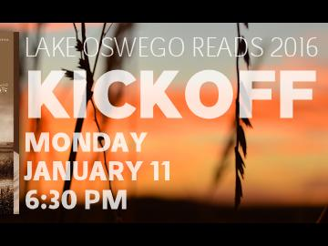 Lake Oswego Reads Kickoff
