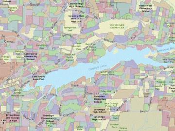map of lake oswego Water City Of Lake Oswego map of lake oswego