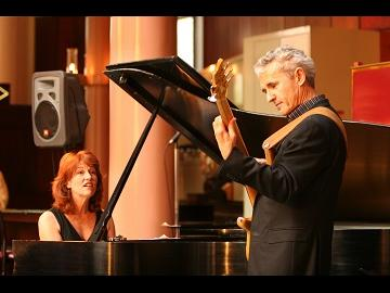 Sally Harmon and Frank Gruner return to LOPL for First Tuesday Music, at 7 p.m. Tuesday, Nov. 6. Free.