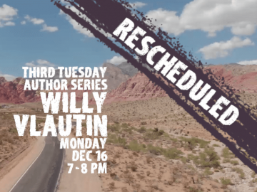 Third Tuesday Author: Willy Vlautin